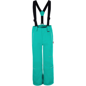 TROLLKIDS Holmenkollen Snow Pants Slim Fit Kids, dark mint